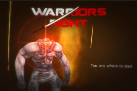 Warriors Fight poster