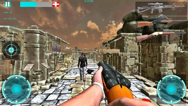 Warrior Snow: Against Zombies apk screenshot