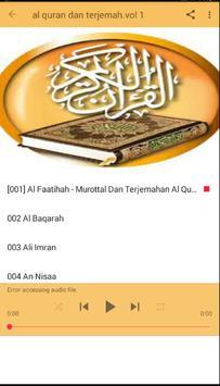 AL Qur'an dan terjemah lengkap screenshot 6