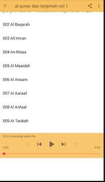 AL Qur'an dan terjemah lengkap screenshot 7