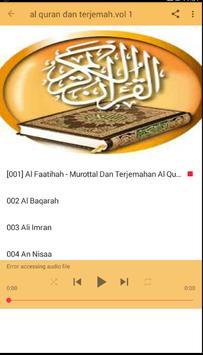AL Qur'an dan terjemah lengkap screenshot 1