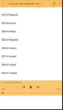 AL Qur'an dan terjemah lengkap screenshot 3