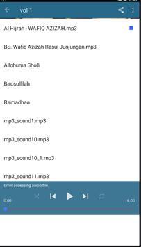 lagu sholawat nabi anak 2018 apk screenshot