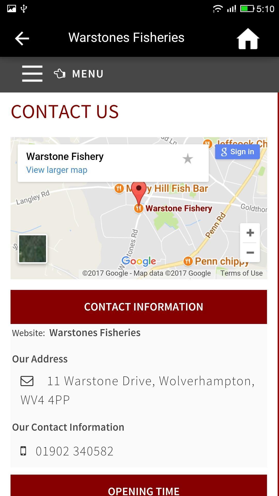 Warstones Fisheries 1