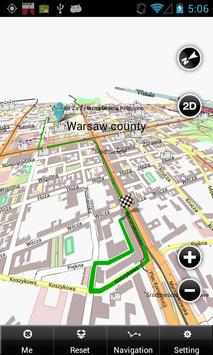 Warsaw Map apk screenshot
