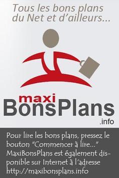 Maxi Bons Plans apk screenshot
