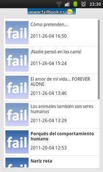 Failbook apk screenshot