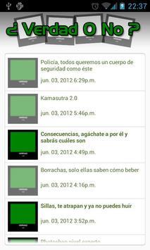 Verdad O No screenshot 1