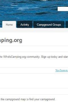 WhoIsCamping Social Network apk screenshot
