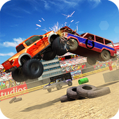 Xtreme Demolition Derby Racing- Muscle Cars Crash icon