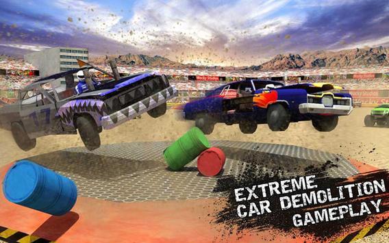 Xtreme Demolition Derby Racing- Muscle Cars Crash apk screenshot