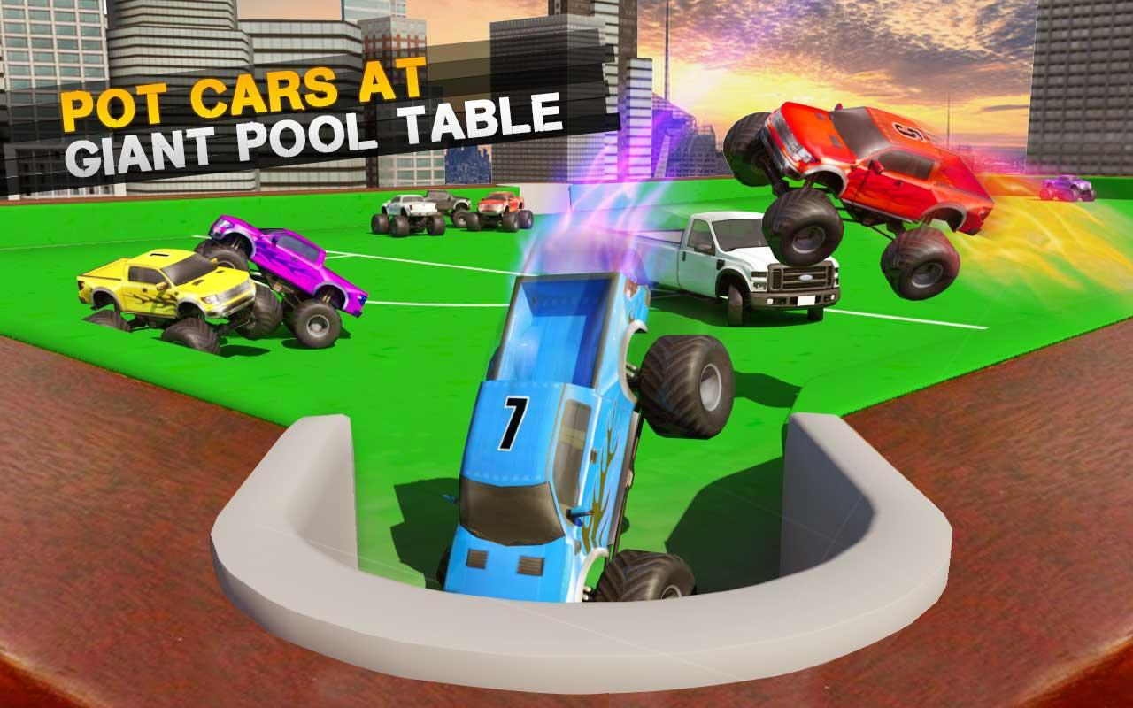 Billiards Pool Car Crash Demolition Derby Racing For Android