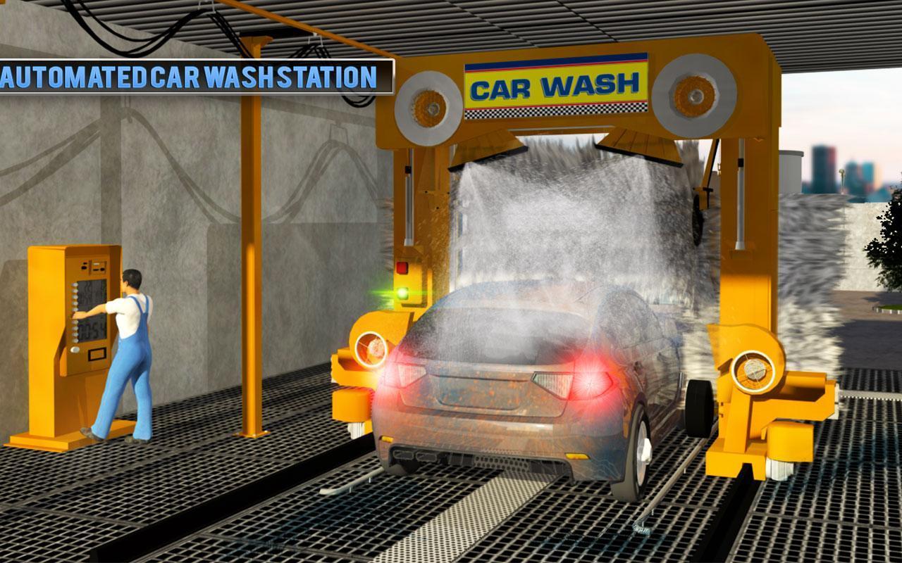 Smart Car Wash >> Smart Car Wash Service Gas Station Car Paint Shop For