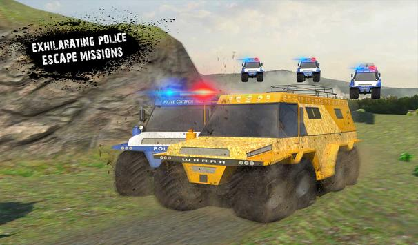 US Police Russian Truck Chase screenshot 16
