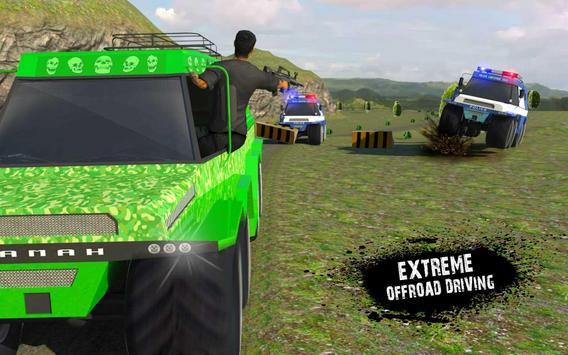 US Police Russian Truck Chase apk screenshot