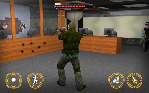 Bank Robbery Police Car Escape apk screenshot