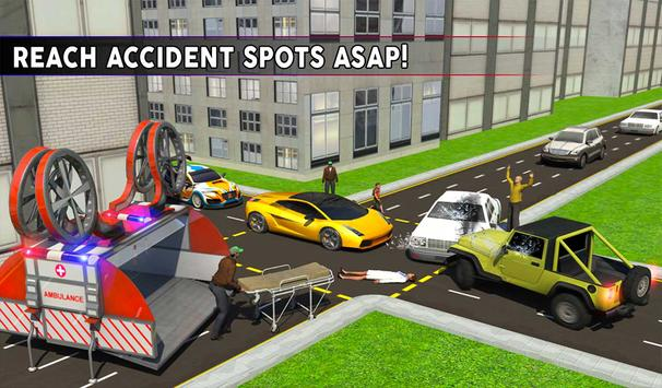 Drone Ambulance Simulator Game apk screenshot