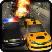 Police Car City Prison Escape icon