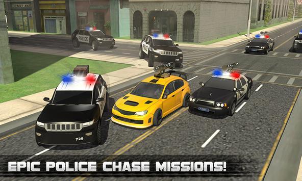 Police Car City Prison Escape poster
