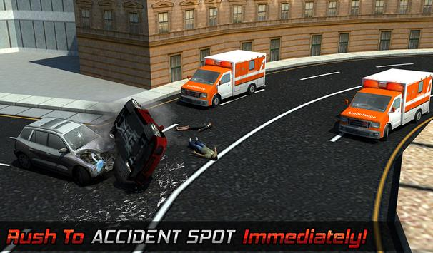 Ambulance Rescue Helicopter 3D screenshot 13