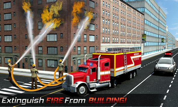 Ambulance Rescue Helicopter 3D screenshot 1