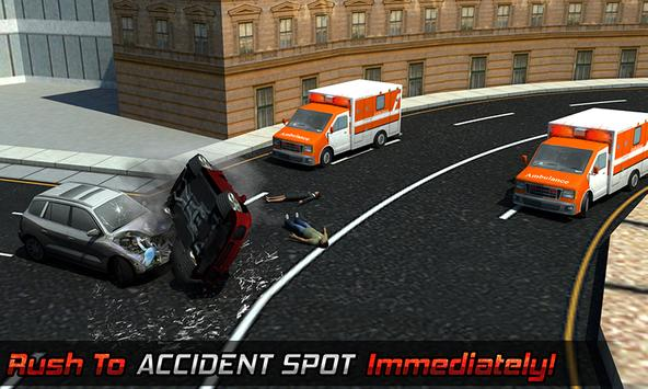 Ambulance Rescue Helicopter 3D screenshot 3