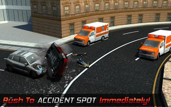 Ambulance Rescue Helicopter 3D screenshot 8