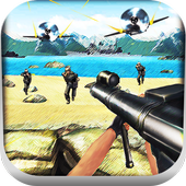 Shoot War:Gun Fire Defense icon