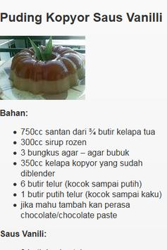 Resep Puding screenshot 4