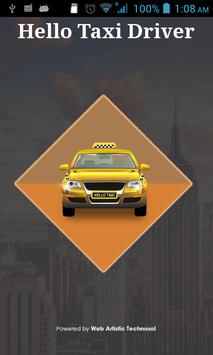 HELLO TAXI DRIVER poster