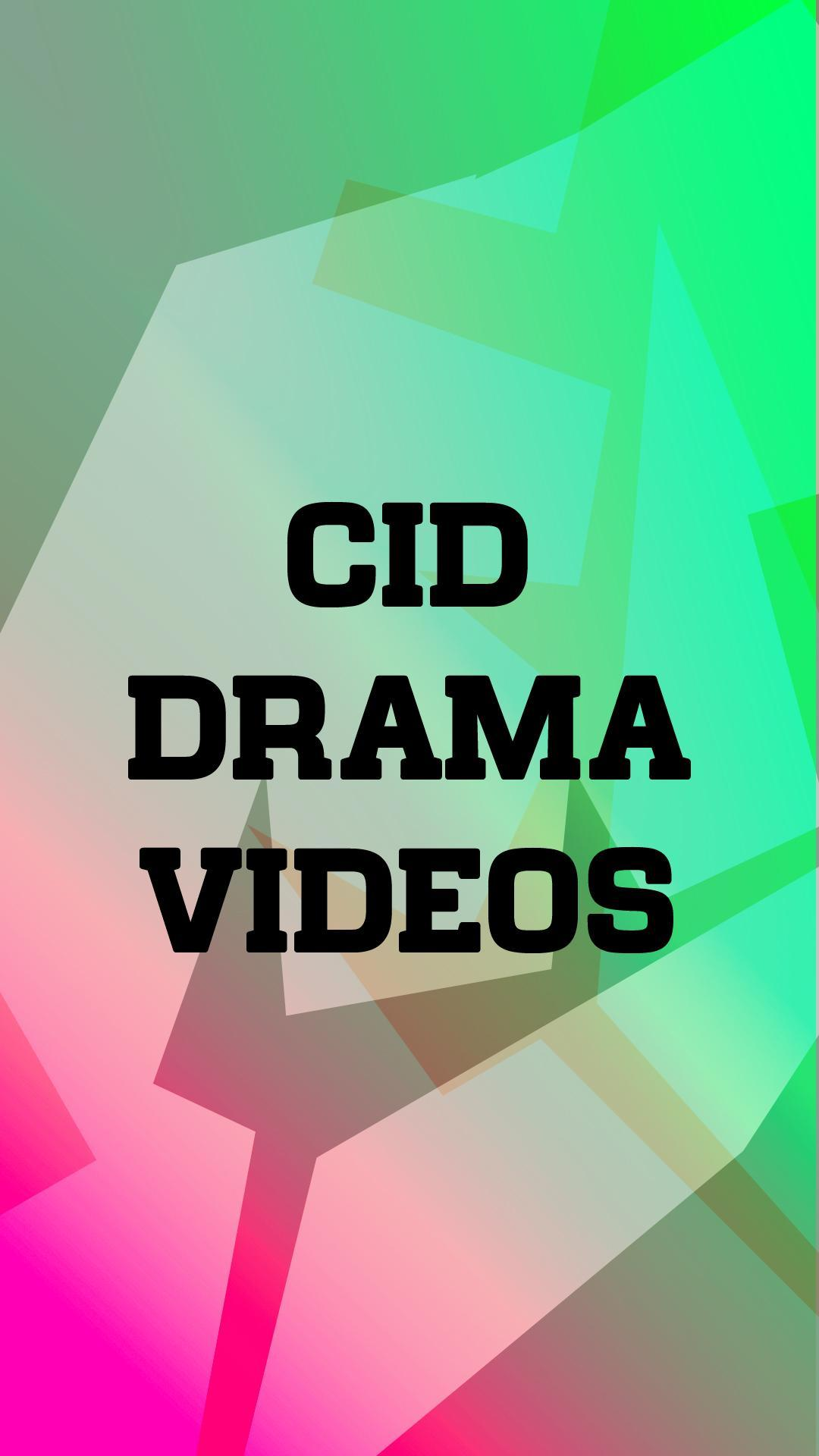 CID Serial for Android - APK Download
