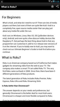 Guide watch kodi on roku setup poster