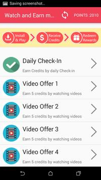 watch and earn Money apk screenshot