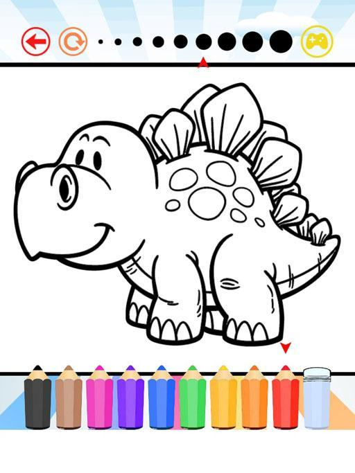 Dinosaur Coloring Book For Kid For Android Apk Download