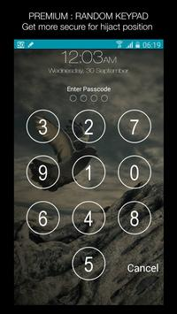 Keypad Lock Screen WatchDog Apk Screenshot