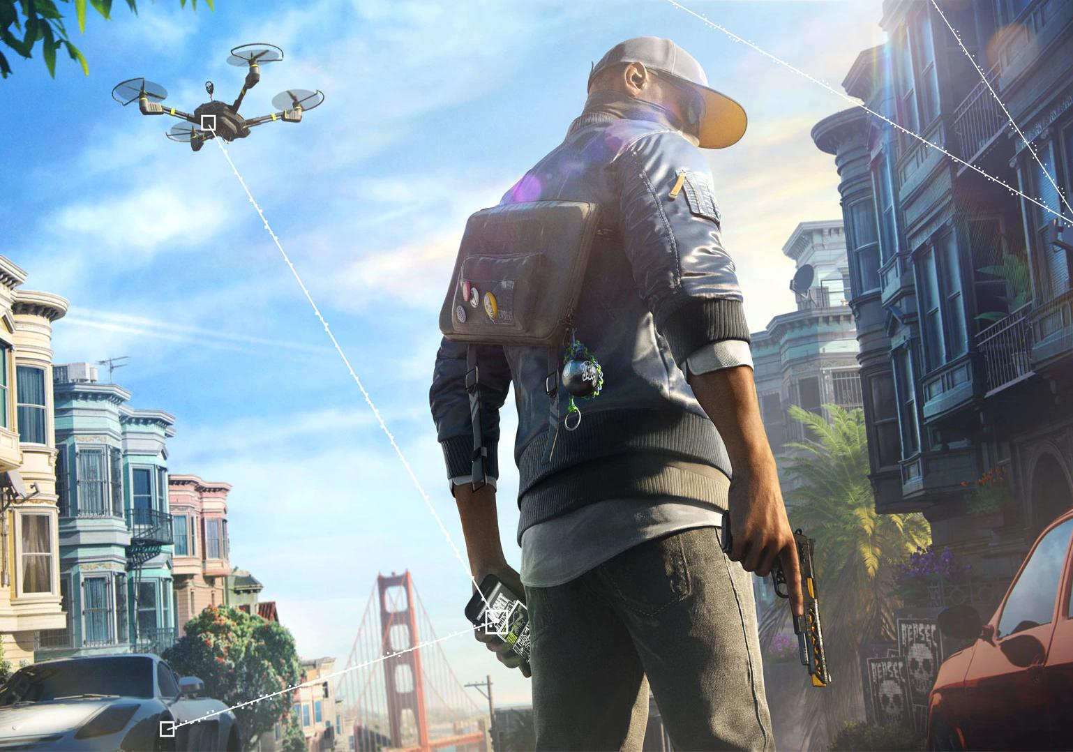Watch Dogs 2 game Wallpaper for Android ...