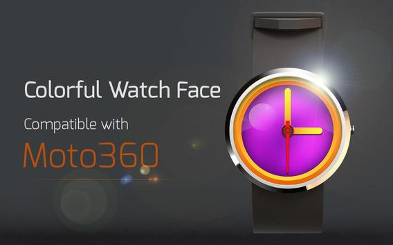 Colorful Watch Face poster