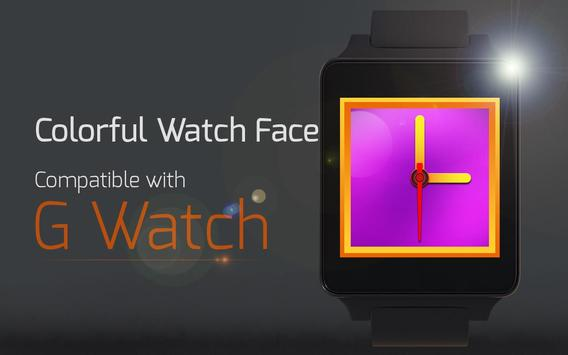 Colorful Watch Face apk screenshot