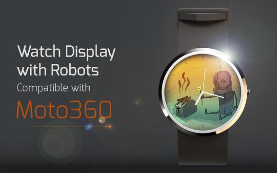 Watch Display with Robots poster