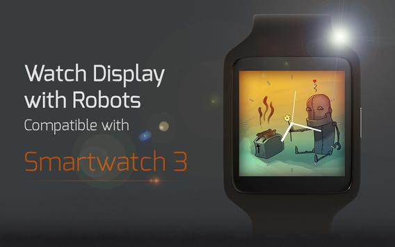 Watch Display with Robots apk screenshot