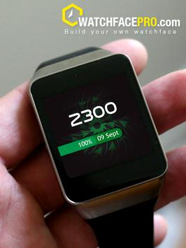 Watch Face Arrow Vortex apk screenshot