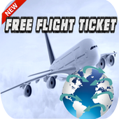 Free Flight Tickets Prank icon