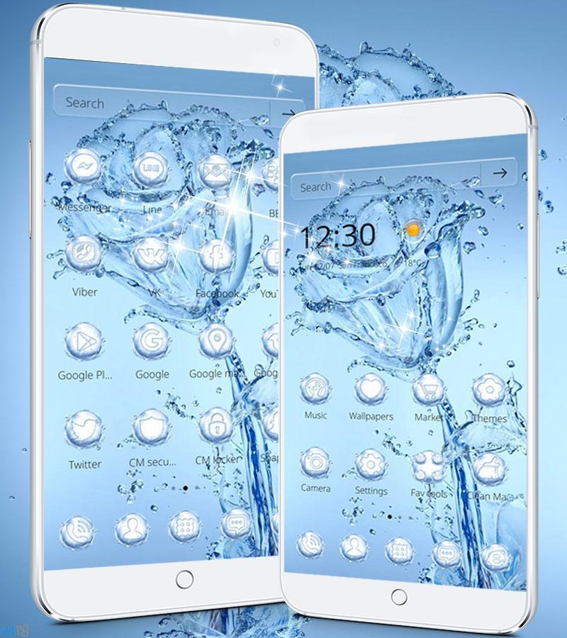Download 7000 Wallpaper Iphone Bunga Biru  Paling Baru