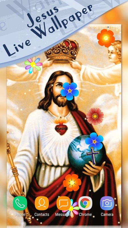 Jesus Magic Touch Live Wallpaper Poster
