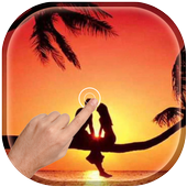Magic Love Ripple Live Wallpaper icon