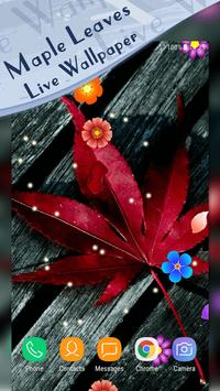 Magic Ripple - Maple Leaves Live Wallpaper screenshot 4