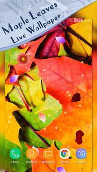 Magic Ripple - Maple Leaves Live Wallpaper screenshot 2