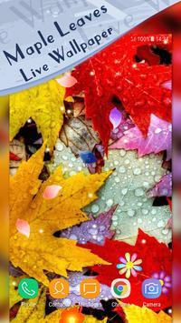Magic Ripple - Maple Leaves Live Wallpaper screenshot 3
