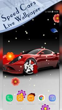Magic Touch - Racing Cars LWP screenshot 1