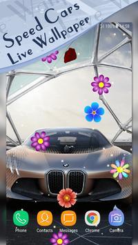 Magic Touch - Racing Cars LWP screenshot 2